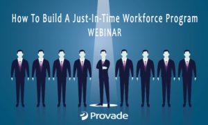 Just in time workforce webinar